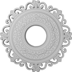 Ekena Millwork CM22OR 22-Inch OD x 6 1/4-Inch ID Orrington Ceiling Medallion -- To view further, visit now : home diy lighting