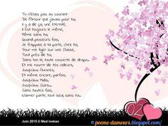 Tu n'étais pas au courant de l'amour que j'avais pour toi ! French Love Poems, Love Heart Gif, Image Citation, Geek Stuff, Positivity, Images, Attitude, Passion, Forever Love