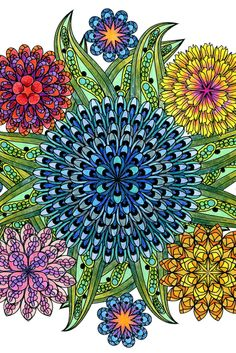 This Mandala Coloring Book For Grown Ups Is The Creative's Way To Mindful Relaxation