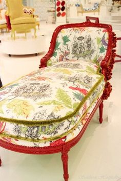 Fainting couch, chaise lounge...BADASS whatever you want to call it!