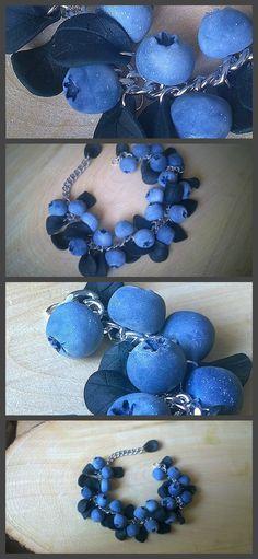 www.etsy.com/shop/Silverushka www.instagram.com/sil.verushka ( @sil.verushka ) | Shop this product here: http://spreesy.com/Silverushka/2 | Shop all of our products at http://spreesy.com/Silverushka   | Pinterest selling powered by Spreesy.com #berries #polymerclay #полимернаяглина #hobby #handmade #craft #творчество #черника #голубика #blueberry #fimo #sonnet #etsy #polymerclay