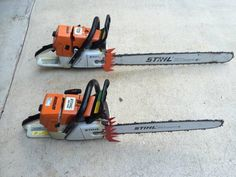 Stihl Chainsaw Repair, Chainsaw Mill, Stihl Chainsaw, Logging Equipment, Tools And Equipment, Outdoor Power Equipment, Power Saw, Wood Cutter, Beil