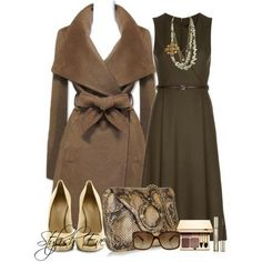 Gucci Outfits for Women by Stylish Eve...Wow, that coat looks so soft, like a bathrobe