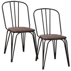 Revo Industrial Side Chair (Set of 2)