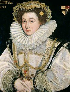 Lady Elizabeth Walshe  by Flemish School       Date painted: 1589  Oil on wood, 64.7 x 49.5 cm  Collection: York Museums Trust