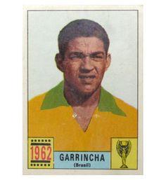 Panini Mexico 70 Karte Garrincha