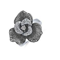 Very elegant ALO diamonds Mystic Magnolia ring Magnolia, Mystic, Sparkle, Elegant, Pretty, Rings, Gold, Accessories, Jewelry