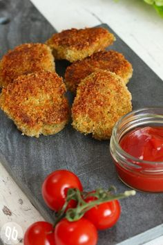 Knusprige Kichererbsen-Tomaten-Salat Rezept mit Cumin und Petersilie (vegan + glutenfrei) #FitnessRoutine