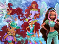 Fairy of waves