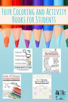 Coloring and Activity Books for girls related to STEM education. Empower your daughters with STEM through STEM coloring pages. Science Activities For Kids, Cool Science Experiments, Color Activities, Stem Activities, Stem Teacher, Kindergarten Stem, Stem Curriculum, Preschool Lesson Plans, Kids Coloring