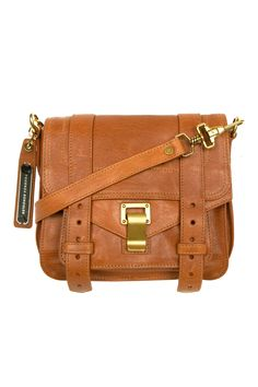 Proenza Schouler PS1 Pouch in Saddle Leather