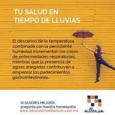 En temporada de lluvia las vías respiratorias y el sistema gastrointestinal son los que más se pueden ver afectados