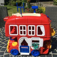 Vintage Toy : Bluebird Big Red Fun Bus in Toys & Games, Vintage & Classic Toys, Other Vintage & Classic Toys   eBay
