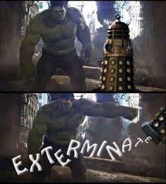 Doctor Who - Hulk vs Dalek