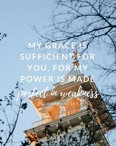 His grace is suffici