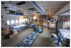 KLM and Airbnb Collaborate to Create the Airplane Apartment - The Chromologist Bunk Beds, Architecture, Toddler Bed, Exhibitions, Design, Airplane, Inspiration, Furniture, Transportation
