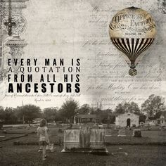one fantastic heritage scrapbook layout by Elizabeth Weaver from DSP  Digital Scrapbooking, Ancestors, Hot Air Balloon, Vintage, Cemetary
