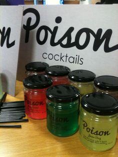 Poison cocktails flavours