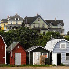 Parker's Cove, Nova Scotia - Wikipedia, the free encyclopedia Cape Breton, Family Roots, Nova Scotia, Home And Family, Shed, Coast, Canada, Outdoor Structures, Cabin