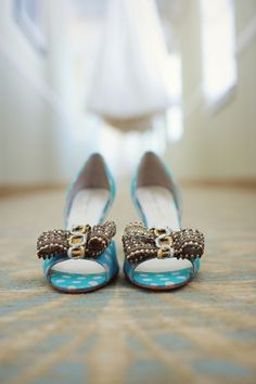 Pretty BHLDN pumps...Photography by thereasonilove.com  Read more - http://www.stylemepretty.com/2013/06/11/whimsical-diy-savannah-wedding-from-the-reason/