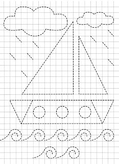 Trace the Dotted Lines Worksheets for Kids - Preschool and Kindergarten Preschool Writing, Numbers Preschool, Preschool Learning, Kindergarten Activities, Writing Activities, Nursery Worksheets, Letter Tracing Worksheets, Printable Preschool Worksheets, Shapes Worksheets