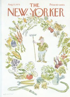 The New Yorker - Monday, August 11, 1975 - Issue # 2634 - Vol. 51 - N° 25 - Cover by : James Stevenson