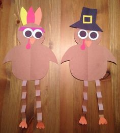 Thanksgiving Crafts for Preschool - Pre-K Kids to Make - Turkey Thanksgiving Craft Ideas