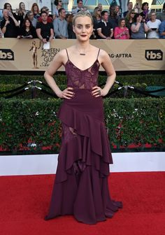 SAG Awards Red Carpet Dresses 2017 | POPSUGAR Fashion Photo 20...Taylor Schilling