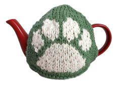 Cat Dog Paw Tea Cosy Hand Knitted Warmer Animal Lover Gift Bear by thekittensmittensuk on Etsy Knitted Tea Cosies, Knitted Hats, Gifts For Pet Lovers, Gift For Lover, Vegan Gifts, My Tea, Dog Paws, Novelty Gifts, Mother Gifts