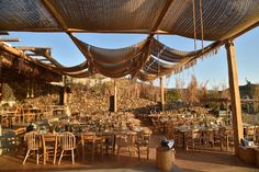 Mykonos Destination wedding - Boho flower decoration- Evil eye theme Boho Wedding, Destination Wedding, Mykonos, Evil Eye, Outdoor Furniture, Outdoor Decor, Flower Decorations, Flowers, Home Decor