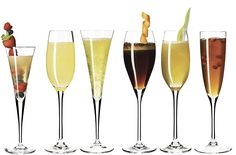Don't just drink champagne on New Year's Eve, instead try sipping on sparkling wine all yearlong with 12 of our seasonal champagne cocktail recipes. Both easy and delicious, these simple custom-made cocktail recipes are perfect for a night at home or festive holiday parties.