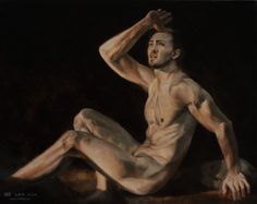 """""""What The?"""", Leo Plaw, 30 x 24cm, oil on canvas #art #painting #figurativeart #figurativepaintng #oilpainting"""