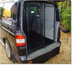 Custom Made Dog Containment For Vans Dog Travel