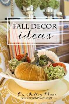 Easy Fall DIY Decorating Ideas that are budget-friendly and quick. Cozy up your rooms in no time with these tips and tricks!