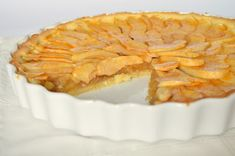French Apple Tart, Apple Pie, Food And Drink, Lemon, Sweet, Desserts, Cakes, France, Candy