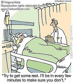 What its like in a hospital