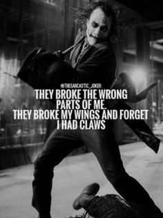 23 Joker quotes that will make you love him more 21 Trendy Tattoo Quotes Love Feelings Heath Ledger Joker Quotes, Best Joker Quotes, Joker Heath, Badass Quotes, Dark Quotes, Strong Quotes, Wise Quotes, Attitude Quotes, Inspirational Quotes