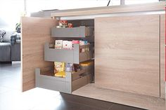 Free standing kitchen pantry offers you great space. You can store many kitchen items in an organized manner.You can set small kitchen items in a good way. Kitchen Pantry Design, Kitchen Items, Kitchen Decor, Free Standing Kitchen Pantry, Küchen Design, Simple Designs, Sweet Home, Shelves, Furniture