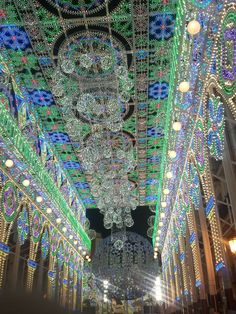 Led Lighting in Valencia during Fallas 2013