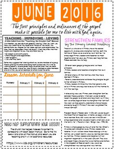 latter day chatter feb newsletter template cute primary ideas