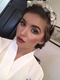 Hair by Aimi at AMM Hair and Makeup Team. Makeup by Donna at AMM Hair and Makeup Team.