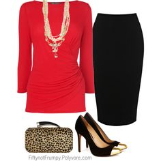 """Dinner at Eight"" by fiftynotfrumpy on Polyvore"