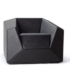 FX10 Lounge Chair in black |chair . Stuhl . chaise |Design: Thomas Feichtner | Neue Wiener Werkstätte |