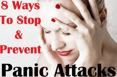 8 Ways to Stop and Prevent Panic Attacks. One thing I would add to this is to learn to breath. Breath in through your nose for a count of 5 or 6 expanding your abdomen (not your chest) and then breath out for a count of 7 or 8. Or google Yoga breathing