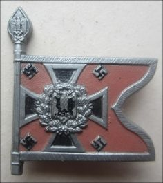 German Contribution Flag Tinnie An original plastic contribution tinnie. Third Reich militaria for sell World War Ii, Badges, Ww2, German, Flag, Military, Flags, Coat Of Arms, World War Two