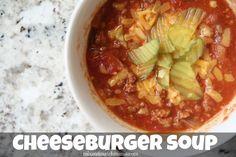 Cheeseburger Soup | Mix and Match Mama
