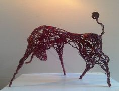 Buy Red Bull, Sculpture by Linda Hoyle on Artfinder. Discover thousands of other original paintings, prints, sculptures and photography from independent artists.