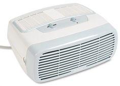 Holmes HEPA Type Desktop Air Purifier, 3 Speeds plus Optional Ionizer