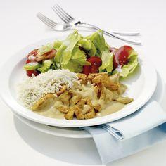 Koche jetzt Erdnuss-Hähnchen-Pfanne in 0 und entdecke zahlreiche weitere Weight Watchers Rezepte. Snack Recipes, Healthy Recipes, Snacks, Wight Watchers, Salty Foods, What You Eat, Food Inspiration, Allrecipes, Low Carb