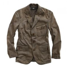RRL Herringbone Sport Coat http://www.richardsfabulousfinds.com/